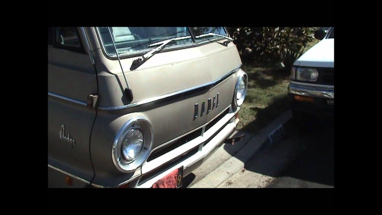 Dodge San Diego >> 1968 Dodge A108 Van Walk-Around and Test Drive.wmv - YouTube