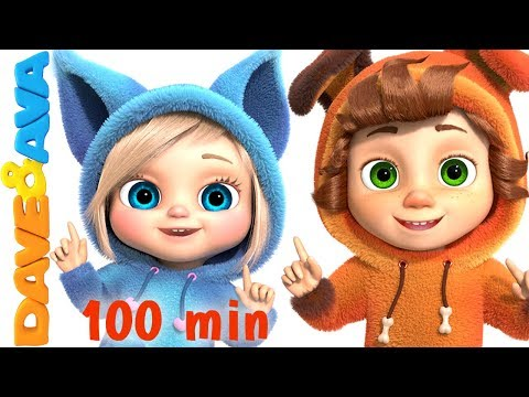 Watching video One Little Finger | Cartoon Animation Nursery Rhymes & Songs for Children | Dave and Ava