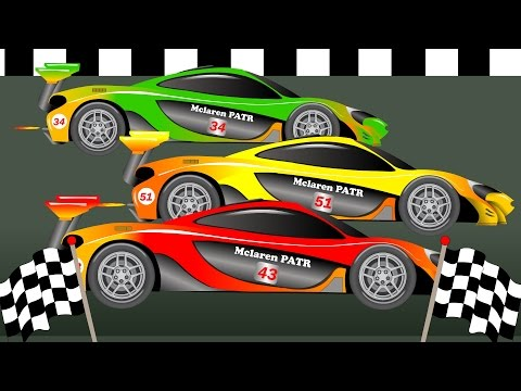 Racing Cars | Formation And Uses | Car Race For Kids