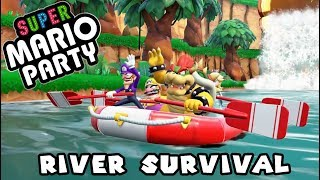 Super Mario Party (Switch) River Survival - Bowser is the King (Part 3)