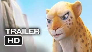Delhi Safari - Delhi Safari Official Trailer #1 (2012) - Jane Lynch, Cary Elwes Movie HD