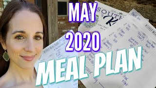 MAY MEAL PLAN! MEAL PLAN WITH ME!