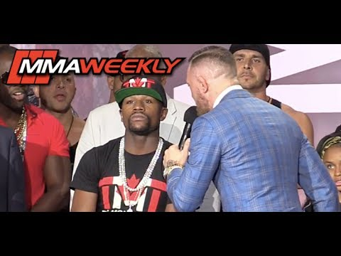 Conor McGregor Says Floyd Mayweather Can't Read and Attacks How He Dresses