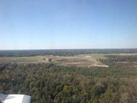 Landing in Memphis International Airport MEM