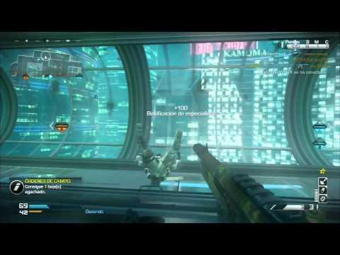 K.E.M a Escopeta FP6 en Free Fall jugando Solo