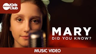 Mary, did you know?  (Music Video) featuring 12 year old Emily Parry  | Allstars Kids Club