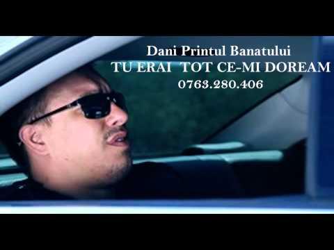 DANI PRINTUL BANATULUI - TU ERAI TOT CE-MI DOREAM 2013 (+4)0760598851