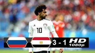 Russia vs Egypt  ( 3 - 1 ) FIFA World Cup 19/06/2018