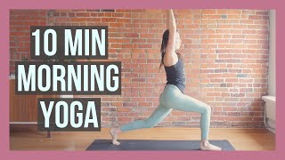 10 min Morning Yoga - Stretch & Strength