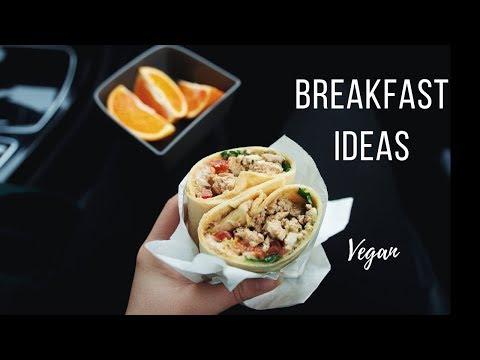 Vegan Breakfast Ideas for Busy Mornings