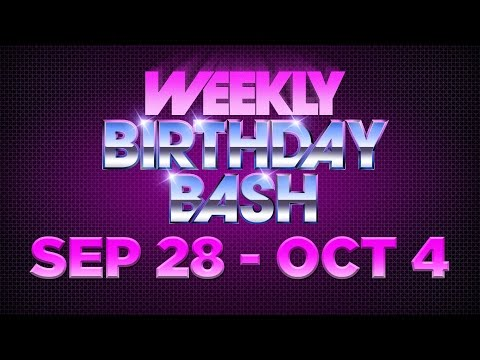 Celebrity Actor Birthdays - September 8 - October 4, 2014 HD