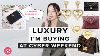 HANDBAGS I'M BUYING THIS CYBER WEEKEND | YSL LOULOU, FENDI, TIFFANY&Co, CHANEL | AD