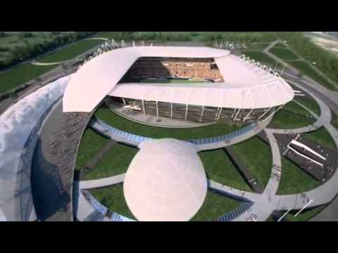 Стадион ЧМ по футболу 2018 в Ростове-на-Дону