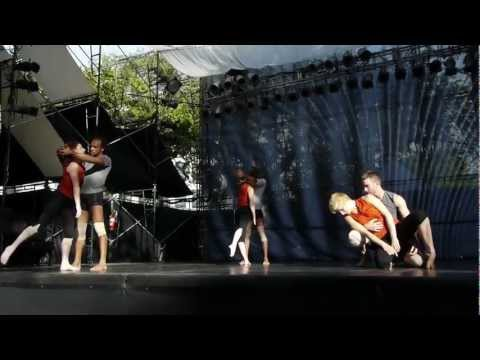 Ririe-Woodbury Dance Company at 2012 Utah Arts Festival - Push, music by Black Angels and Sigur Ros