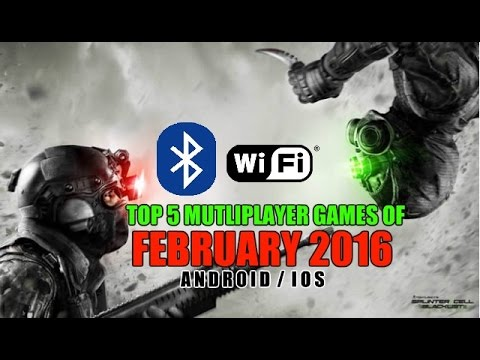 Top 5 multiplayer games of February 2016 for Android&iOS (Wi-Fi/Bluetooth)