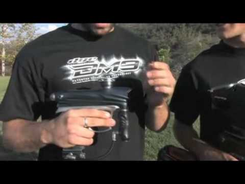 Dye DM9 Paintball Marker Video