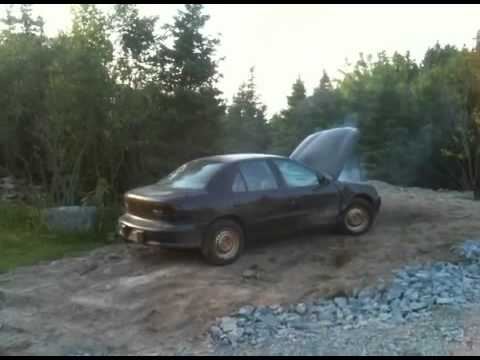 How to melt a 96 Cavalier part 4