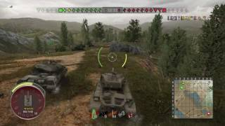 World of Tanks ps4 pershing 3000 dmg