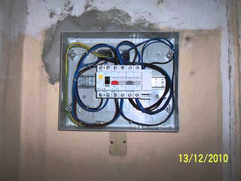 Impianto elettrico per tapparelle