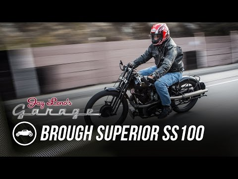 1925 Brough Superior SS100 - Jay Leno's Garage
