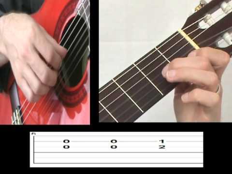 Classical Guitar Lesson - Ferdinando Carulli's Waltz