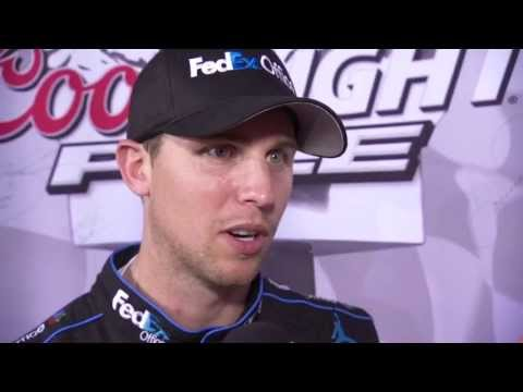 Denny Hamlin sets qualifying record at Charlotte!