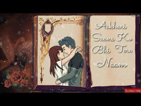 Badnamiyaan Whatsapp Status   Lyrics Video   Armaan Malik By RaJa Creationz