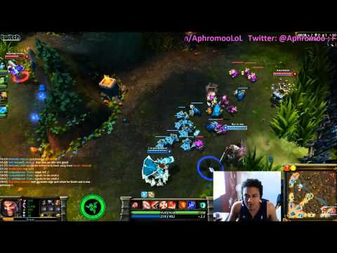 Good guy Aphromoo, teaching low elo how to botlane