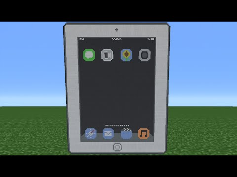 Minecraft Tutorial: How To Make An IPad