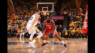 James Harden vs Stephen Curry Showing Off Their Handles!