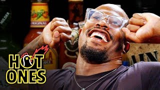 Von Miller Geeks Out Over Spicy Wings | Hot Ones