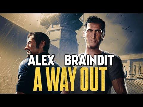 АЛЕКС И БРЕЙН ПОБЕГ ИЗ ТЮРЬМЫ - A Way Out #1