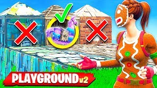 *NEW* GUESS THE LLAMA GAMEMODE IN FORTNITE! (PLAYGROUND MODE V2)