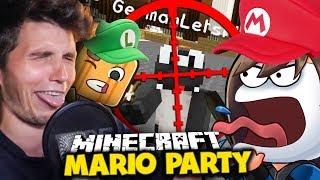 """Der """"1000"""" BLÖCKE """"NO SCOPE"""" in sein GESICHT ✪ Minecraft Mario Party"""