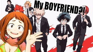 WHO'S MY BF?! || Taking a BNHA BF Quiz!