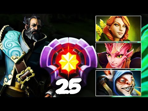 LEVEL 25 Dotaplus EPIC Gameplay Compilation - Kunkka, WR, Dark Willow, Meepo