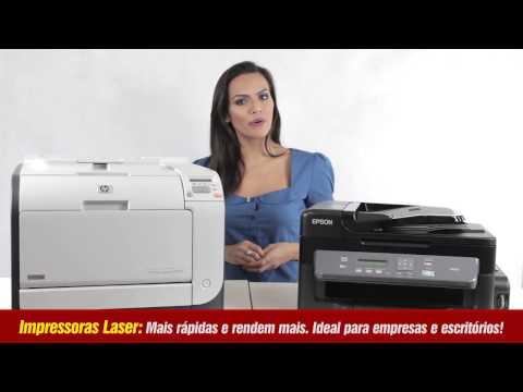 Diferenças entre impressoras laser, jato de tinta ou uma multifuncional - Gimba.com