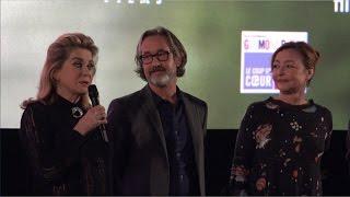 Sage Femme - Catherine Deneuve et Catherine Frot - Avant-première à Paris (Gaumont Opéra)