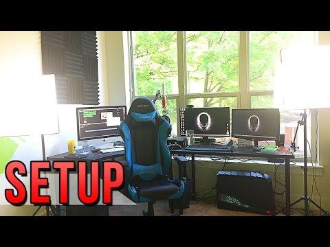 AWESOME GAMING SETUP |  MY OFFICE SETUP VIDEO