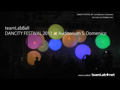 "teamLabBall / teamLab exhibition ""We are the Future"""