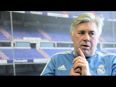 Intervista Carlo Ancelotti, Real Madrid