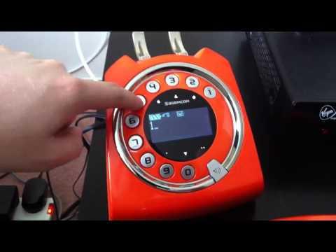 Sagemcom Sixty Retro Cordless Phone Sagemcom Sixty Retro Phone