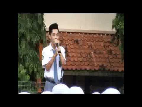 penyampaian visi misi calon ketua osis man 1 kudus periode 2010 2011