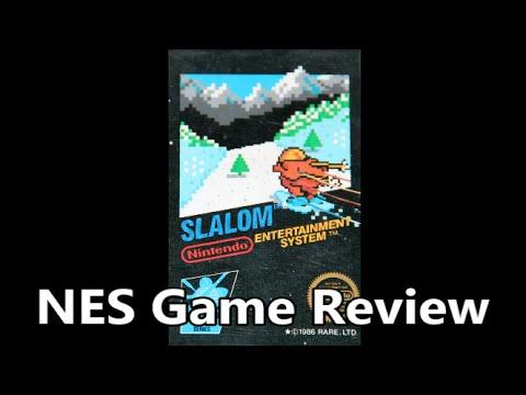 Slalom NES Review - The No Swear Gamer Ep 181