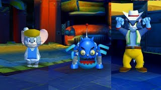 Tom en Jerry - War of the Whiskers - Nibbles vs - Tom & Jerry games
