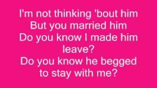 Toni Braxton - He Wasn't Man Enough For Me (lyrics)