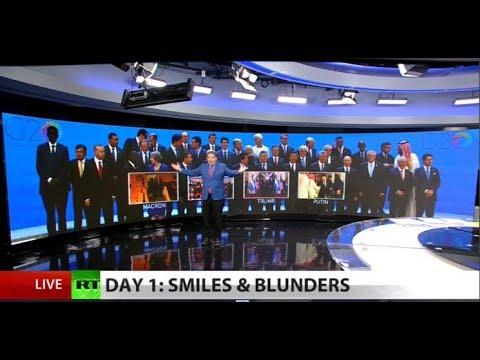 Optics & antics from G20 summit
