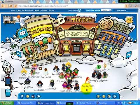Contraseñas de pinguinos socios parte 2