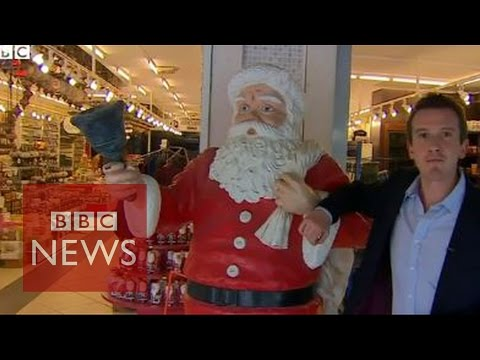 Searching for Santa's roots... in Turkey? - BBC News