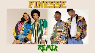 Download Lagu Bruno Mars - Finesse (Old School Remix) Gratis STAFABAND